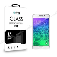 Eiroo Samsung Galaxy Alpha Tempered Glass Cam Ekran Koruyucu