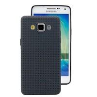 Microsonic Dot Style Silikon Galaxy E5 Siyah Kılıf
