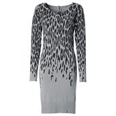 BODYFLIRT Penye elbise - Gri 91461395 8902605260846