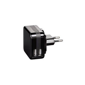 Hama Şarj Cıhazı 2Xusb 4200Ma Sıyah Kablo