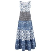 John Baner JEANSWEAR Penye elbise - Mavi 93941295 8903340430990