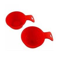 Suncook 2'li Düz-Yıldızlı Pilav Tatlı Kalıbı - Kırmızı