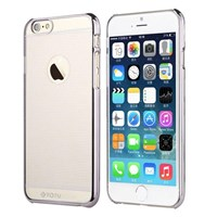 TOTU Breeze series iPhone 6 Plus PC case - Renk : Silver