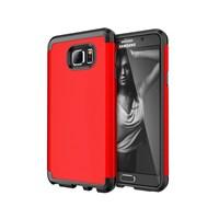 Microsonic Samsung Galaxy Note 5 Kılıf Slim Fit Dual Layer Armor Kırmızı