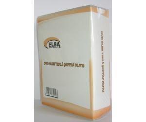 Elba Pl-211b Slim Tekli Şeffaf 7li DVD Kutusu