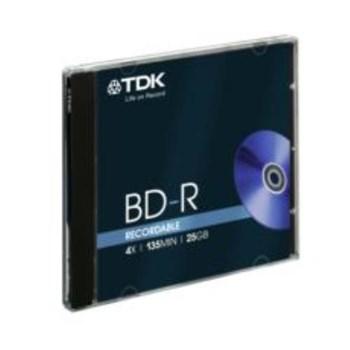 TDK Blu Ray Disk 25 Gb 4x Kalın Kutu 1'li