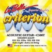 La Bella Gitar Aksesuar Akustik Tel Labella C500T 31639847