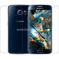 Microsonic Samsung Galaxy S6 Ön + Arka Koruyucu Şeffaf Film