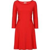 Bpc Bonprix Collection Punto Di Roma Elbise, 3/4 Kollu - Kırmızı 32232579