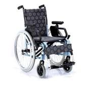 Çiçekli Manuel Tekerlekli Sandalye