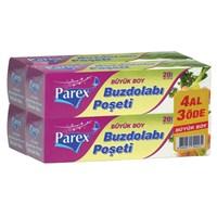 PAREX Buzdolabı Poşeti 4 Al 3 Öde-Büyük