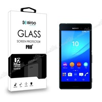 Eiroo Sony Xperia M4 Aqua Tempered Glass Cam Ekran Koruyucu
