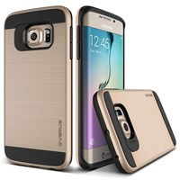 Verus Samsung Galaxy S6 Edge Case Verge Series Kılıf - Renk : Shine Gold
