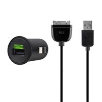 Belkin Universal Ikili Usb Micro Araç Çakmak Şarj Ünitesi Sync Kablosu (iphone & Ipod) (f8z571cw03)