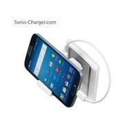 Swıss Charger Sch 21002 Ecomax 2 4A Unıversal Şarj Cihazı Ve 0,25M Beyaz Mıcro Usb Kablo