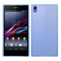 Sony Xperia Z1 Kılıf 0.2 mm Ultra İnce Kapak Mavi