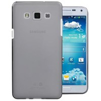 Microsonic Transparent Soft Samsung Galaxy E5 Kılıf Siyah