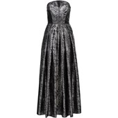 Rainbow Uzun Korseli Elbise - Siyah 32960629