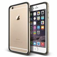 Verus iPhone 6 Plus/6S Plus Case Iron Bumper Series Kılıf - Renk : Black Gold