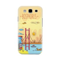 Biggdesign Smiling Istanbul Boğaz Galaxy S3 Kapak