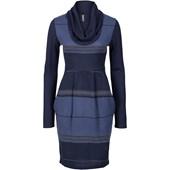 RAINBOW Örgü elbise - Mavi 32535105