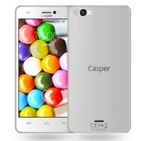 Microsonic Casper Via V8c Kılıf Transparent Soft Beyaz