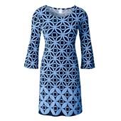 BODYFLIRT Penye elbise - Mavi 25131153