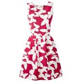 BODYFLIRT boutique Scuba kumaş görünümde elbise Angela - Kırmızı 24823479
