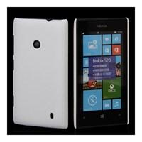 Microsonic Rubber Kılıf Nokia Lumia 520 Beyaz