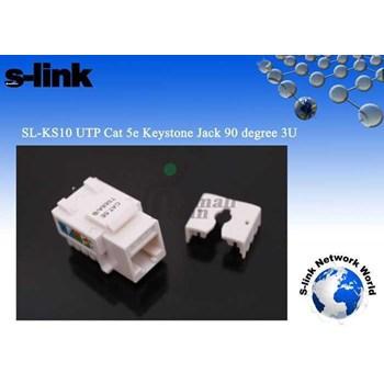 S-LINK SL-KS10 CAT6 UTP KEYSTONE JACK3U 90 DERECE