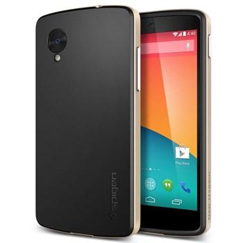 Nexus 5 Şampanya Renk Detaylı Telefon Kılıfı