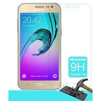 Microsonic Samsung Galaxy J2 Temperli Cam Ekran Koruyucu Kırılmaz Film