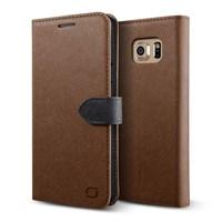 LIFIC Samsung Galaxy Note 5 Saffiano Diary Series Kılıf - Renk : Brown