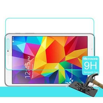 Microsonic Samsung Galaxy Tab4 8.0'' T330 Temperli Cam Ekran Koruyucu Kırılmaz Film