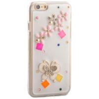 IP-671 Desenli Taşlı iPhone 6 Plus 5.5 Koruyucu Kılıf