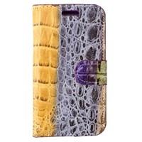 crocodile Galaxy S4 Mini Standlı Gri Kılıf MGSDEMPRX45
