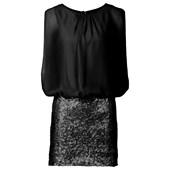 BODYFLIRT Elbise - Siyah 25427157