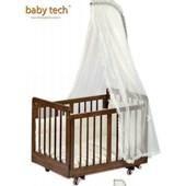 Baby Tech 185 Kral Mini 50x90 Ahşap Beşik Ceviz 24495809