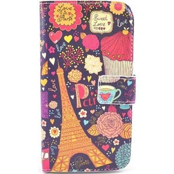 Samsung Galaxy S4 Love in Paris Cüzdan Kapaklı Kılıf
