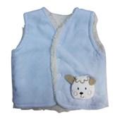 BEBBEMINI 1221 Bebek Yeleği Kuzu Mavi 9-12 Ay (74-80 Cm) 33268671