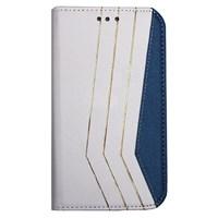 Color Case iPhone 5s Gizli Mıknatıslı Kılıf Beyaz MGSBFGKWY47