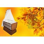 Crest Cr-804 Ahşap Bebek Beşiği 60x100 24498976