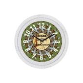 Cadran Dekoratif Vintage Duvar Saati Çatlak Desen İstiklal Street 32756392