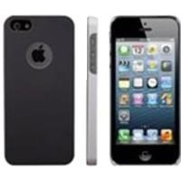 C304 Hole Hard Shell Case iPhone 5 Uyumlu Koruyucu Kılıf Siyah
