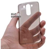 LG G3 Mini Kılıf 0.2mm Silikon Tam Şeffaf Kapak Siyah