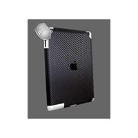 IPG Apple Yeni iPad 3 & 4 (Siyah-Karbon Fiber) Arka Koruyucu