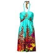 BODYFLIRT boutique Aksesuarlı elbise - Yeşil 24487095