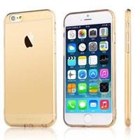 Microsonic Totu Design Soft Series Transparant Thin Iphone 6s Kılıf Gold