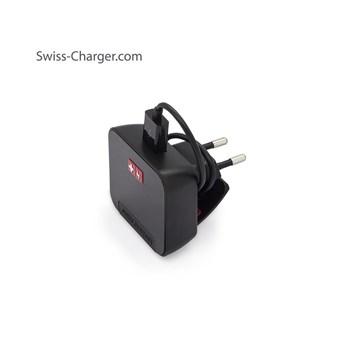 Swıss Charger Sch 20022 Ecomax 2 4A Unıversal Şarj Cihazı Ve 0,25M Siyah Mıcro Usb Kablo