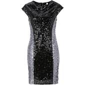 Bodyflirt Boutique Payetli Elbise - Siyah 32960587